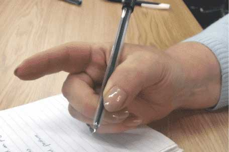 How to Hold a Pen Correctly