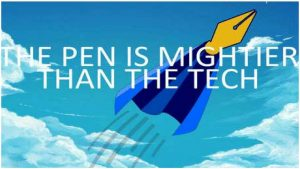 The Pen is Mightier Than the Tech by Penn'orth