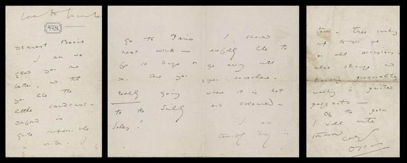 Oscar Wilde love letter