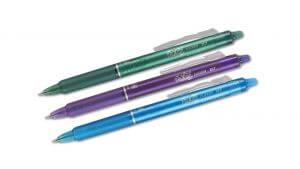 Pilot Frixion Clicker Erasable Rollerball Pen Review