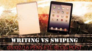 Writing Vs Swiping