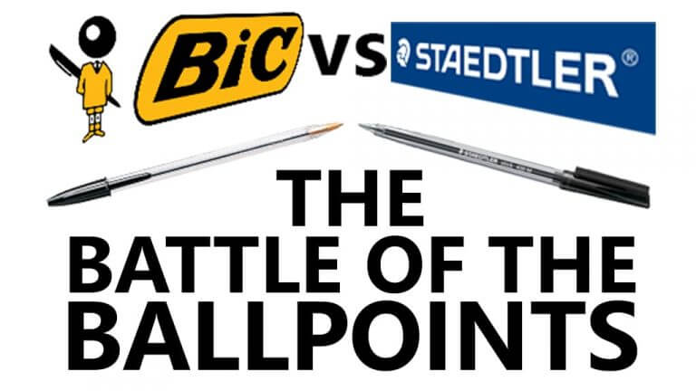 battle of the ballpoints