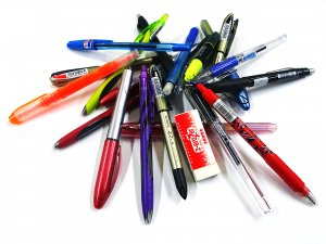 Lot's of pens