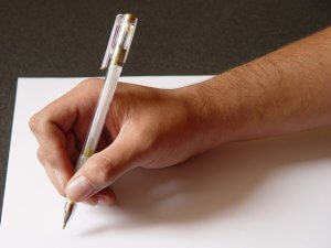 Holding the Pen Correctly