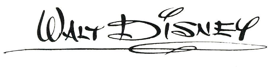 Walt Disney Signature