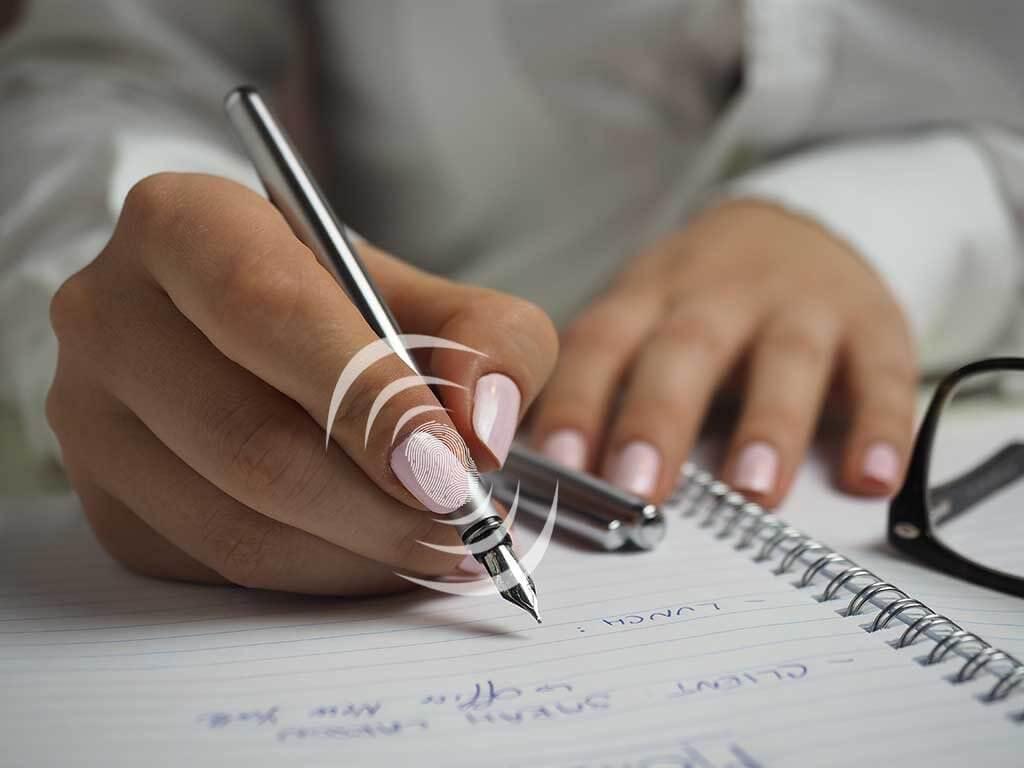bio metric fingerprint pen