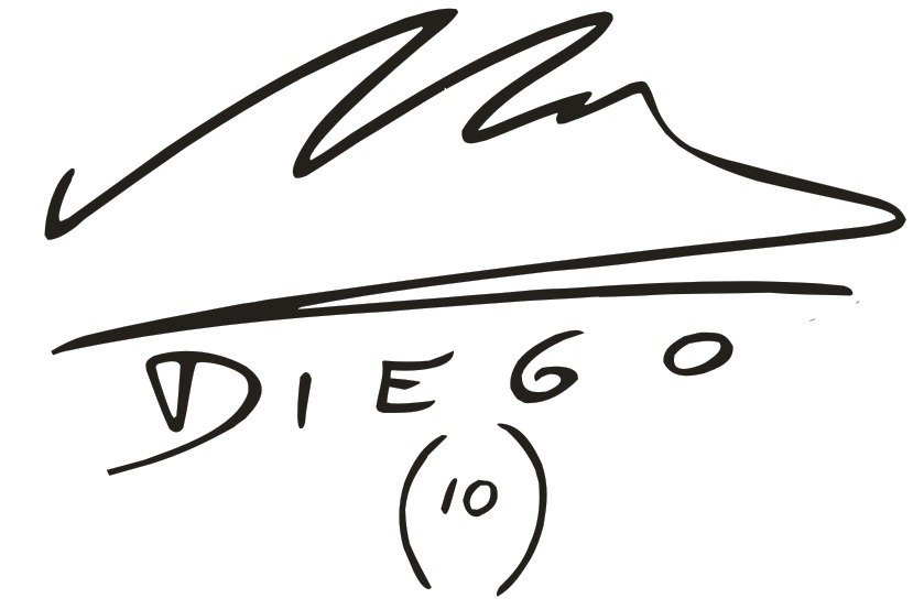 Maradona Signature