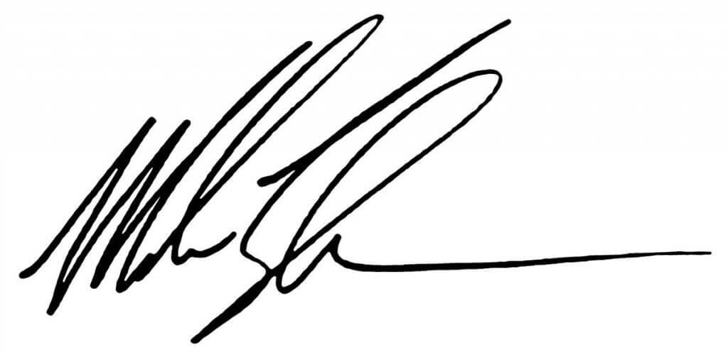 Mike Tyson Signature